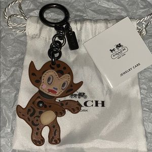 New without tags COACH X Gary Baseman beast charm